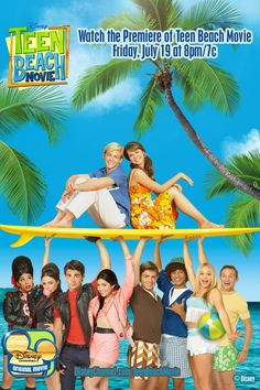 Disney Teen Beach movie    Not even gonna lie, i watched it. And i enjoyed it. You can judge me, i dont really have a lot of shame.