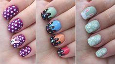 3 unhas decoradas para a Páscoahttps://youtu.be/C9er5GMnLNc