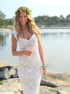 6 Amazing Crochet Wedding Dresses