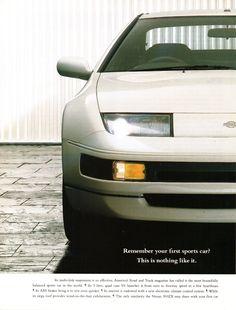 1994 Nissan Fairlady Page 1 Aussie Original Magazine Advertisement Nissan Z Cars, Jdm Cars, Nissan 300zx, Nissan Infiniti, Japanese American, Motor Company, Old Ads, Magazine, Rally Car