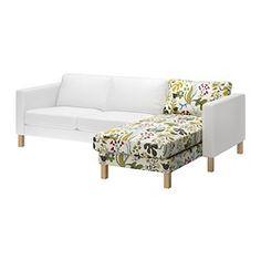 KARLSTAD Divaani, jatko-osa - Blomstermåla monivärinen - IKEA
