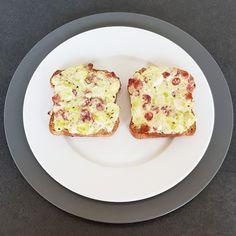 Wenn es schnell gehen muss und man keine Lust hat zu kochen, ist ein Toast eine gute Alternative zu belegten Broten. Fast Walking, Brot, Cooking