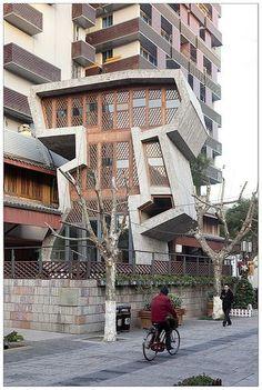 Zhongshan Lu (Ancient Imperial Road). Wang Shu (Amateur Architecture Studio). Hangzhou, China.