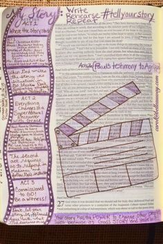 Acts 26, August 16, 2015 carol@belleauway.com, sermon notes, colored pencil, bible art journaling, journaling bible, illustrated faith
