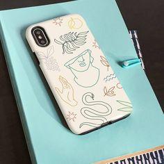 Greek Mythology Inspired Phone Case, Cream, Beige