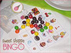 Candy bingo
