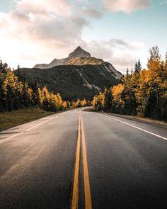 Road to autumn (Kananaskis, Alberta) by Stevin Tuchiwsky (@stevint) on Instagram