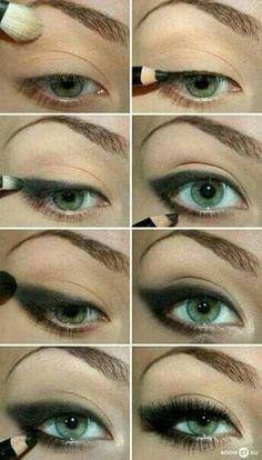 b8361c8a0588c Echa un vistazo a la mejor ojos ahumados paso a paso en las fotos de abajo  y obtener ideas!!! MUJER BONITA ONLINE nos enseña cómo hacer un maquillaje  ...