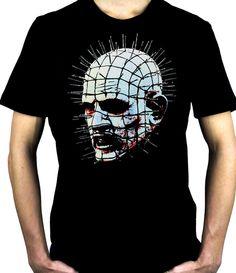 Pinhead Hellraiser T-Shirt Clive Barker Horror Cenobite