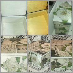 Decoupage jewellery box