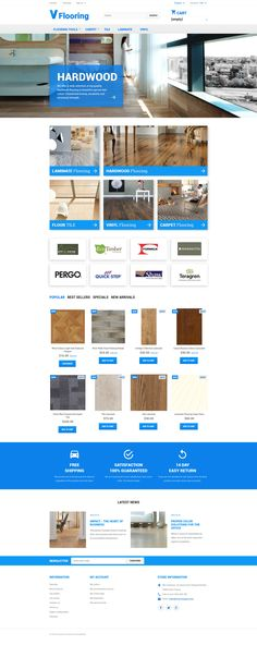 PrestaShop Theme , Flooring