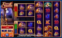 Fire Queen is a 5-reel, 100 payline, WMS Gaming non progressive video slot machine. More this way... http://www.casinocashjourney.com/slots/wms/fire-queen.htm