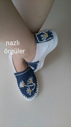 Crochet Shoes with Rubber Bottoms -- Free Crochet Sandals, Crochet Boots, Crochet Slippers, Knit Crochet, Knit Shoes, Sock Shoes, Shoe Boots, Crochet Shoes Pattern, Shoe Pattern