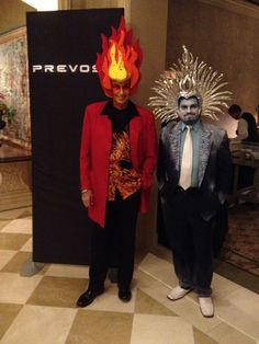 Fire and Ice magicians