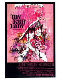 My Fair Lady, 1964. Giclee Print from AllPosters.com, $49.99