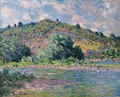 Claude Monet. The Banks of the Seine at Port-Villez, 1885. Oil on canvas, 65 x 81 cm
