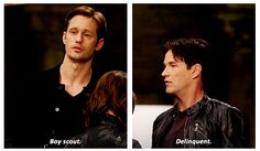 True Blood - Eric and Bill