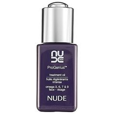 NUDE Skincare ProGenius™ Treatment Oil 1 oz by NUDE Skincare. $78.00. What it is:NUDE's most coveted product. ProGenius™ Treatment Oil contains 10 carefully selected plant oils and is rich in omega 3, 6, 7, and 9.What it is formulated to do:This 100 percent pure and active treatment oil provides a precisely balanced diet of vital nutrients for luminous and healthy looking skin. The all-absorbing formula delivers deep and long lasting skin cell nourishment, rev...