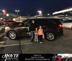 Congratulations Caitlin on your #Kia #Sorento from Shawn Martin at Hoyte Dodge RAM Chrysler Jeep!  https://deliverymaxx.com/DealerReviews.aspx?DealerCode=R491  #HoyteDodgeRAMChryslerJeep