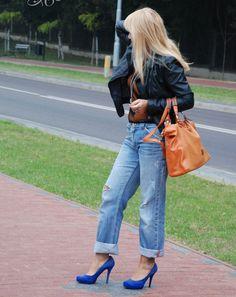 Stylizacja Boyfriendy - tak, czy nie...? dodana przez blogerkę modową Babooshka