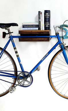 Walnut Wood Bike Rack