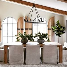 Small dining room ideas to make the most of your space Dining Room Tables Ikea, Black Dining Room Chairs, Dining Room Walls, Dining Room Lighting, Table And Chairs, Dining Table, Bar Chairs, Classic Curtains, Interior Shutters