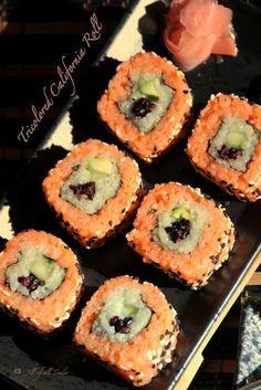 Jill of all Trades: Tricolored California Roll - Sushi