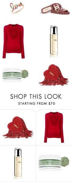 """pls like if u are going to use an item from my set"" by alaa88 ❤ liked on Polyvore featuring Yves Saint Laurent, Love Moschino, La Mer, Eminence, Chanel and Sydney Evan"