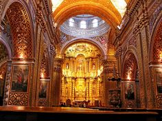 QUITO | Church of the Company of Jesus - Found on SkyscraperCity