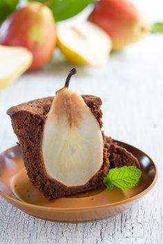 Saftig süß: Dieser Schoko-Birnen-Kuchen ist das Highlight bei Kaffee und Kuchen