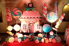 Candy Land Theme Party Decorations