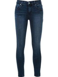 'Geo' ankle skinny jeans