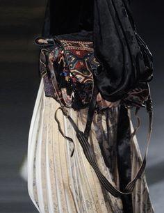 Dries van Noten. Fashion Week SS14: Bags | ELLE UK
