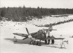 Danish Air Force Spitfire HF IXe TA812 testing her firepower
