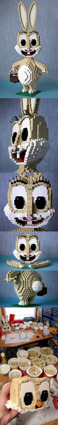 Brickbunny - Happy Easter to all of you! #LEGO #Easter #Bunny