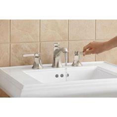 KOHLER Georgeson 8 in. Widespread 2-Handle Bathroom Faucet in Vibrant ...