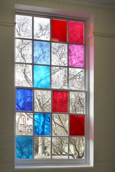 window detail from primary school design by Gavin Hughes London, United Kingdom School Architecture, Interior Architecture, Painting On Glass Windows, Ecole Design, Glass Brick, Window Detail, School Decorations, Learning Spaces, Primary School
