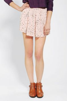 Cooperative Soft Woven Circle Skirt