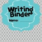 This writing binder is aligned with Lucy Calkin's Units of Study and Common Core. Not to mention, because of copyright, it's FREE!!! Enjoy :) The c...