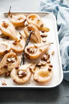 PEARS baked with maple syrup – Bea's cookbook