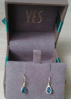 Kup mój przedmiot na #vintedpl http://www.vinted.pl/akcesoria/bizuteria/14107150-srebrne-pozlacane-kolczyki-z-krysztalkami-swarovski