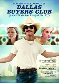 Dallas Buyers Club. Winner for Best Actor, Supporting Actor and Makeup