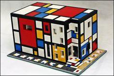 Mondrian in Lego | 몬드리안