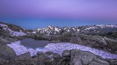 Prima dell'Alba by lucafontana -  Very special moment at 3000meters of Hanging Valley (Rutor, La Thuille) Valle d'Aosta
