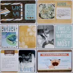 Project life 2015 - 49. týden (levá strana) Matter Most, What Is Life About, Project Life, Projects, Log Projects, Blue Prints
