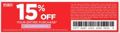 sports authority printable coupon march 2013