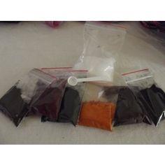 Starterset Wollschaaarf´s Farblustgeeignet für Wolle, Seide u.v.m!!!Inhalt: 5 Grundfarben : gelb, orange, blau, rot, schwarz + 1 Mix Farbe extra je 10g +