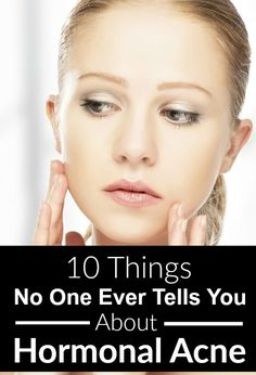 Adult hormonal #acne is one of the most frustrating things to deal with...