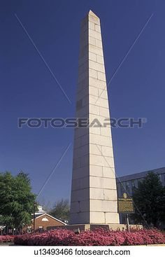 Augusta, GA, Georgia, The Signers' Monument, a fifty-foot obelisk of granite, on…