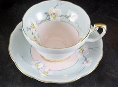 Foley Fine Bone China Cup & Saucer Apple Blossoms